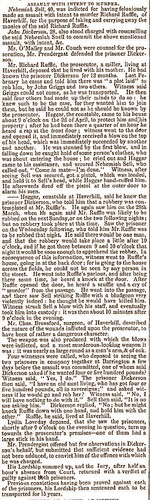 Ipswich Journal 2Aug1845 N Sell trial conviction