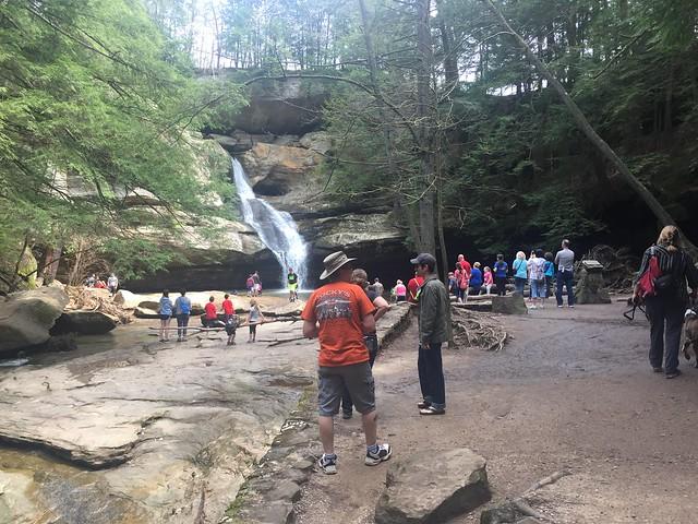 Crowded Cedar Falls