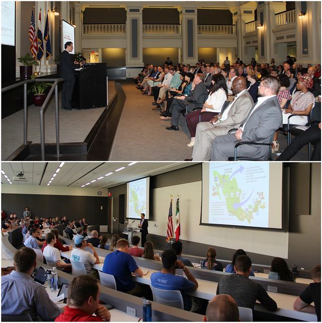 El Consulado de México en Kansas City llevó a cabo conferencias sobre los beneficios que ha  traído el TLCAN