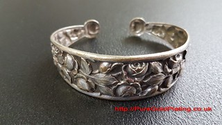 Bangle to be Silver Plated | by PureGoldPlating