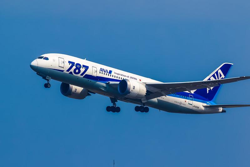 JA809A GoAround 全日空 Boeing 787-8 Dreamliner