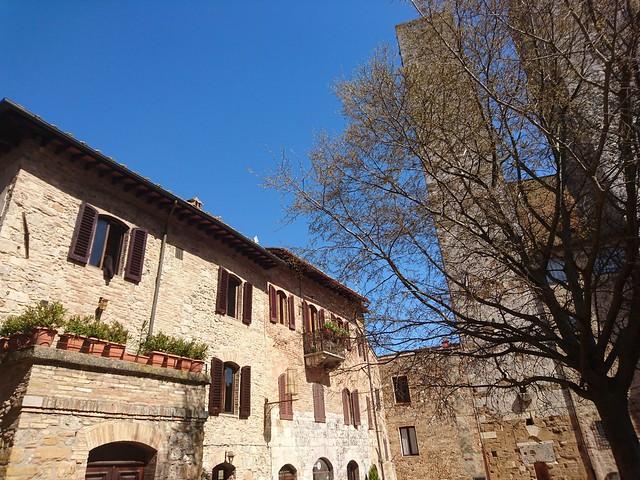 Piazza del Erbe, San Gimignano