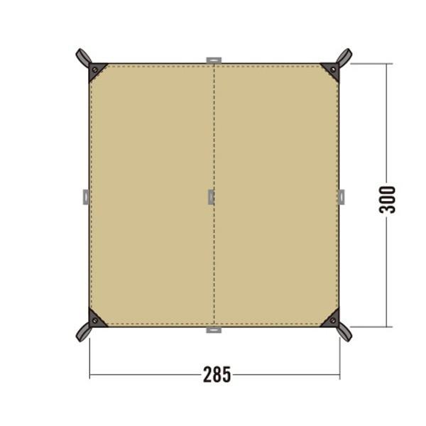 タトンカーTATONKA Tarp2TC300×285コクーンタープ