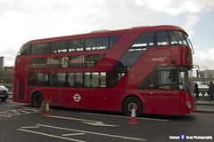 Wrightbus NRM NBFL - LTZ 1702 - LT702 - Not In Service - Abellio London - London 2017 - Steven Gray - IMG_8531