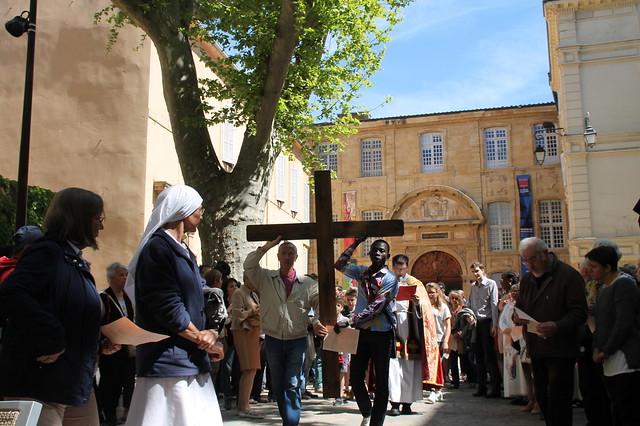 2017 04 14 - chemin de croix - Aix-en-Provence