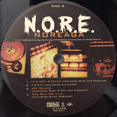 NOREGA:N.O.R.E.(LABEL SIDE-B)