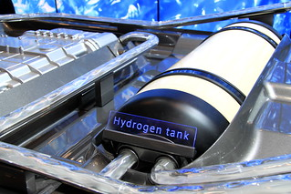 Toyota hydrogen fuel cell at the 2014 New York International Auto Show | by Joseph Brent