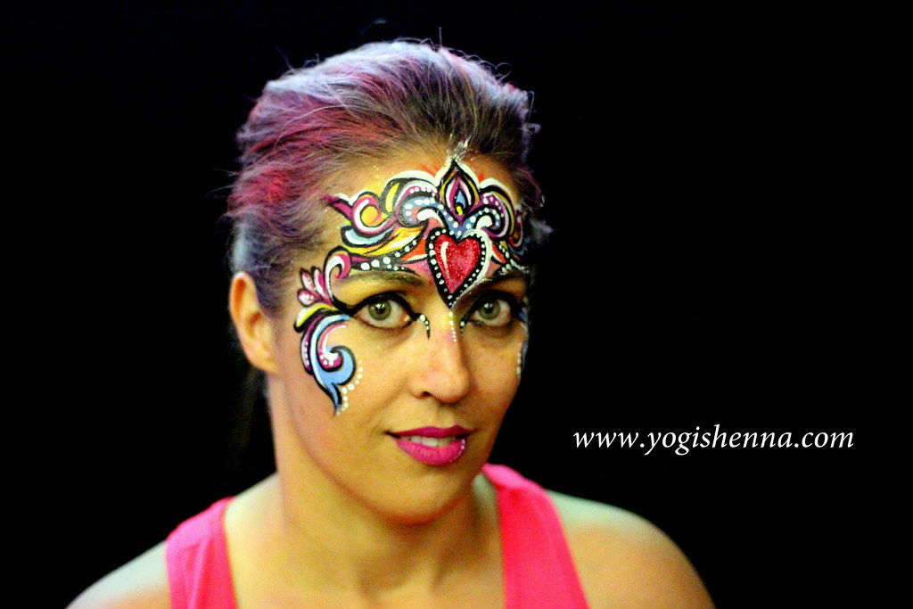Princess Crown Face Painting Colorful Crown Face Painting Flickr