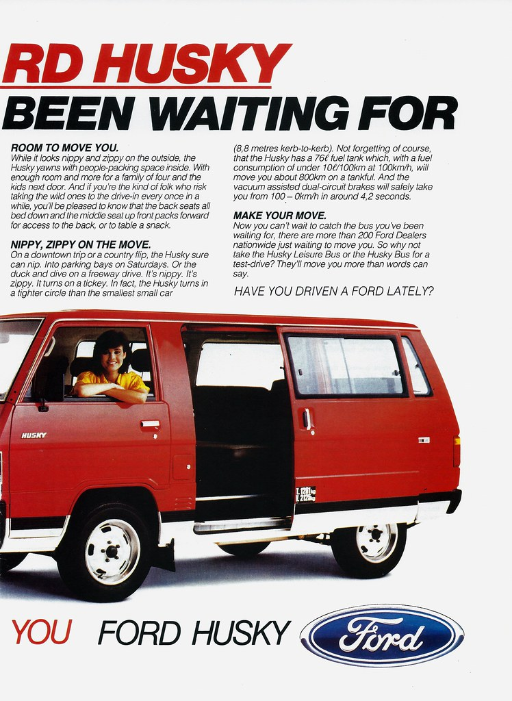 1986 Ford Husky (South Africa) P2 | While it resembles the ...
