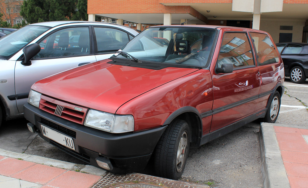 1990 Fiat Uno Turbo Ie I Hadnt Come Across One Of These Flickr