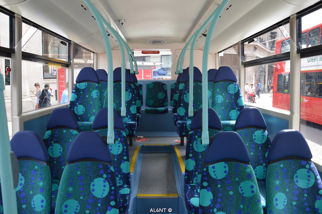 London united optare metrocity interior oce3 al6nt for Interior companies london