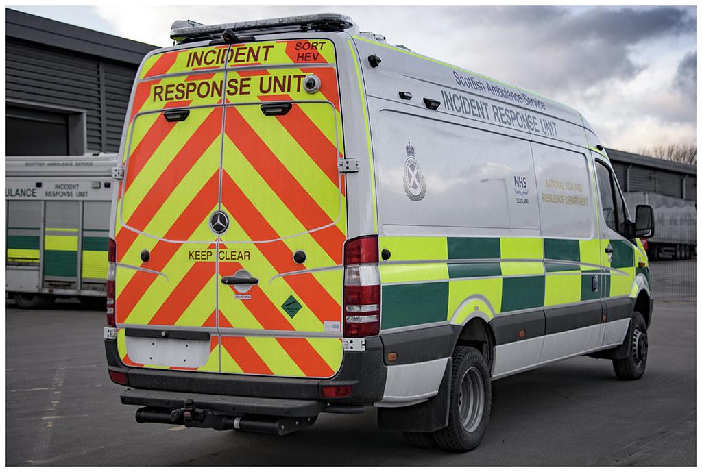 new scottish ambulance service sort hev incident response