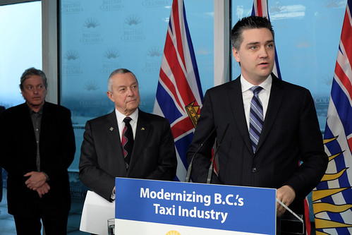 BC invests in taxi industry to prepare for arrival of ride sharing | by BC Gov Photos