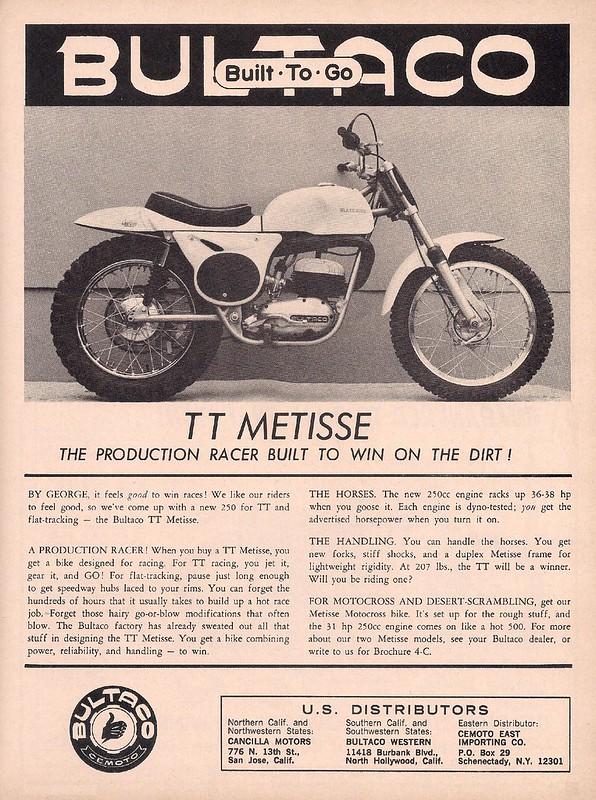 Bultaco TT Metisse