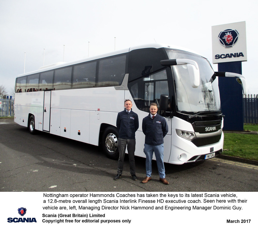 Keltruck support for Scania coach operators