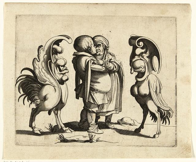 003- Dibujos grotescos - Arent van Bolten- Rijksmuseum
