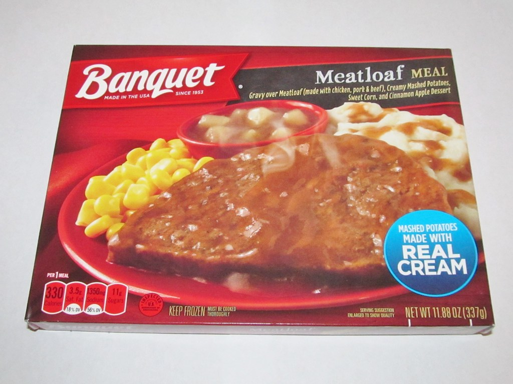 Banquet Meatloaf Meal March 6th Is National Frozen Food Da Flickr