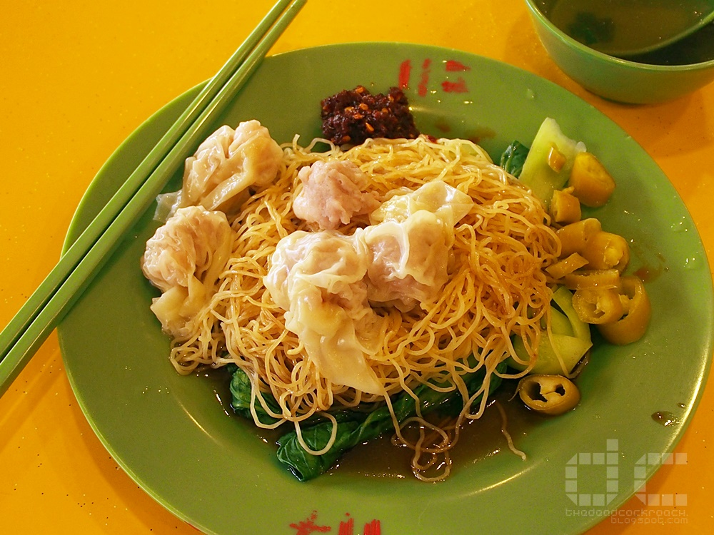 6th avenue, food, food review, master tang, review, singapore, sixth avenue, wanton mee, 鄧師傅, 鳳城面家
