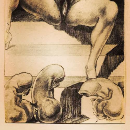Favorite detail from Martin Van Maele, ILLUSTRATION TO LA TRILOGIE ÉROTIQUE BY PAUL VERLAINE