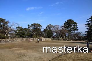 松阪城は公園になってる