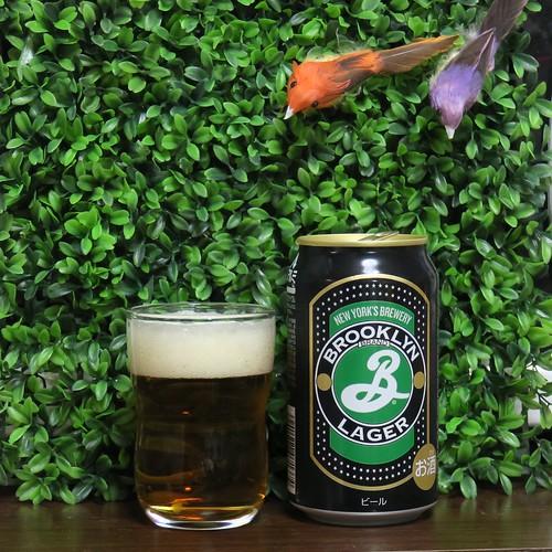 ビール:国産「ブルックリン ラガー」缶