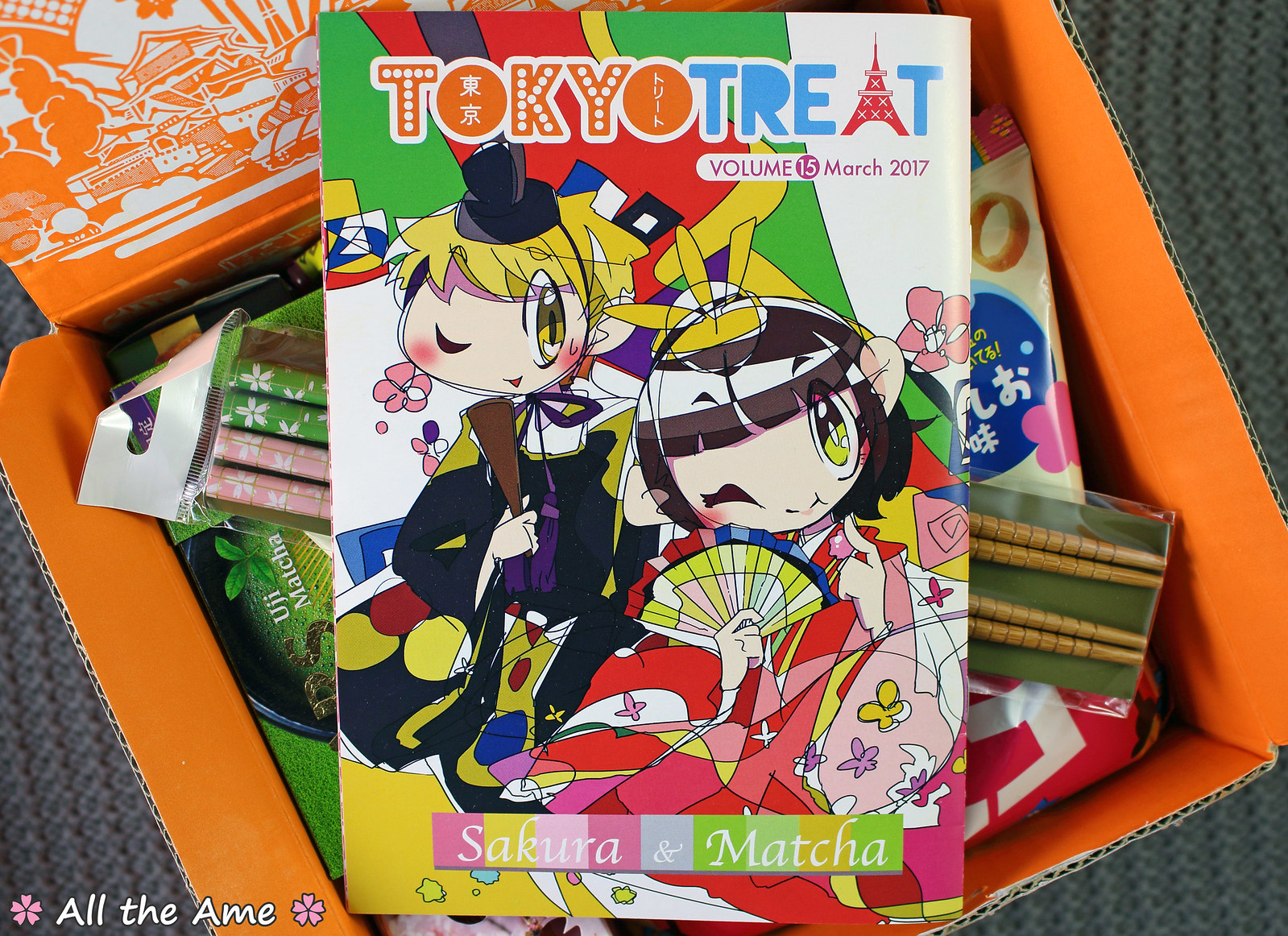 TokyoTreat Sakura & Matcha