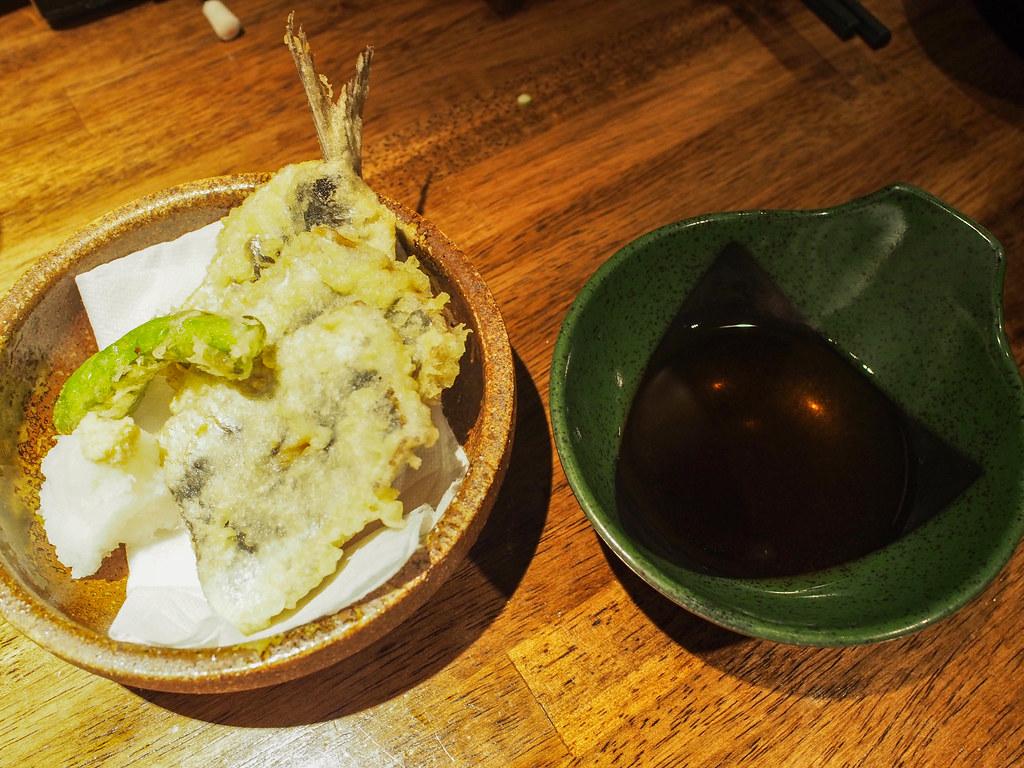 鰯の天ぷら | Tempura of Sardine