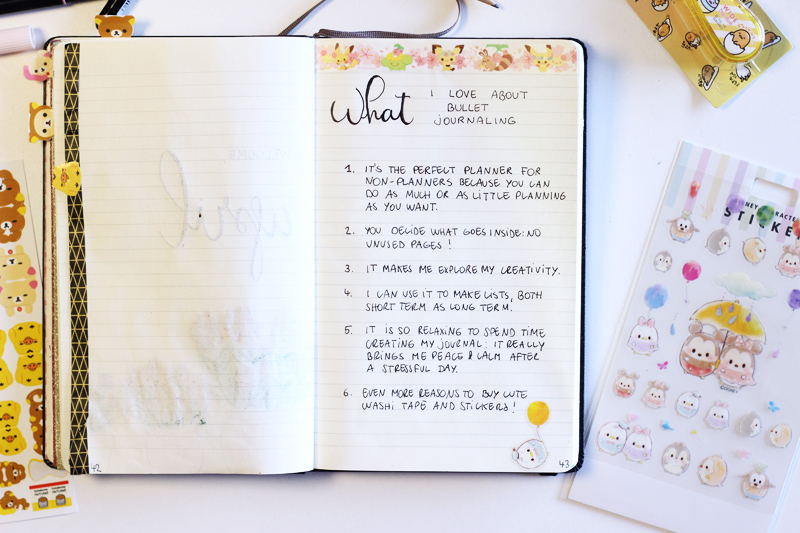 What I Love About Bullet Journaling