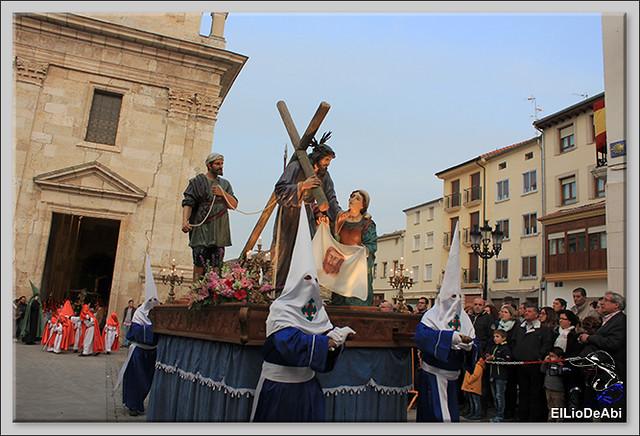Procesión del Santo Entierro en la Semana Santa de Briviesca 2017 13