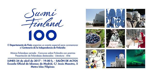 Evento 100 años de Finlandia en Madrid