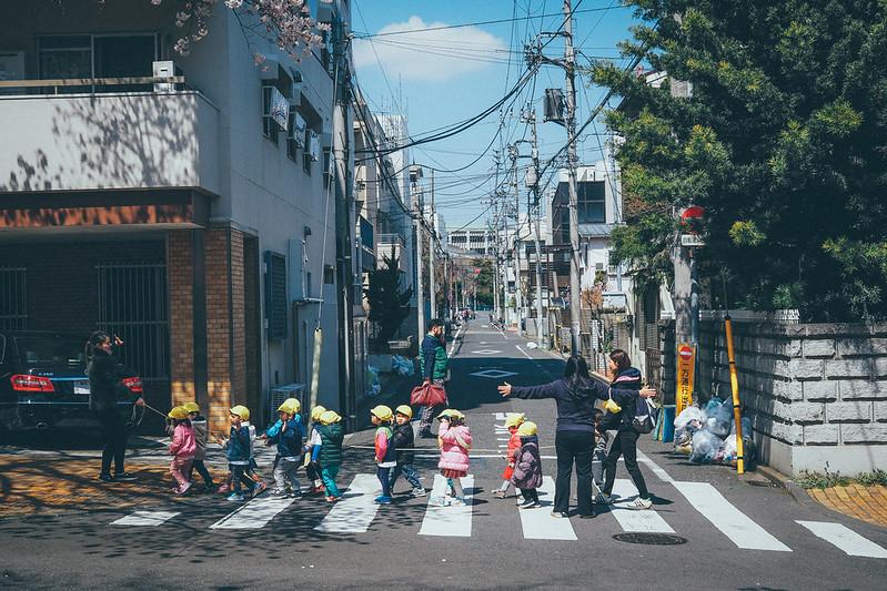 小朋友過馬路|東京都 Tokyo