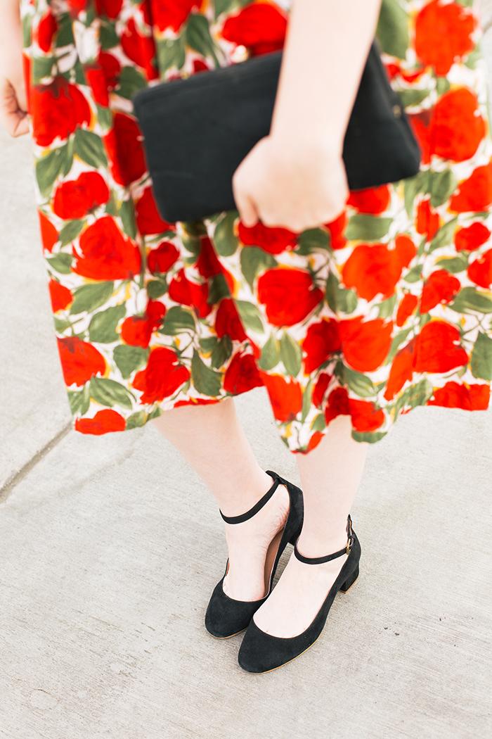 austin fashion blogger spring wedding outfit vintage dress18