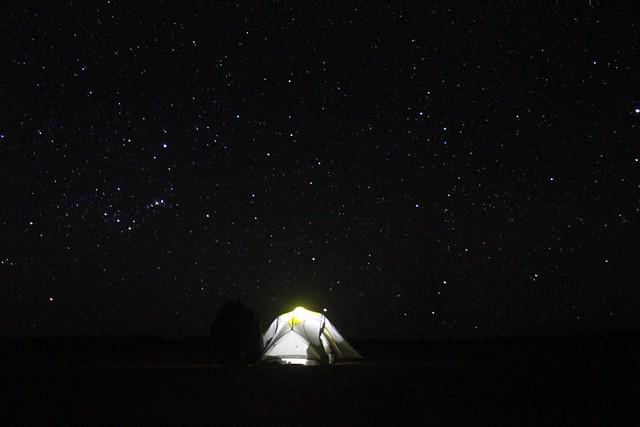 night tent stars