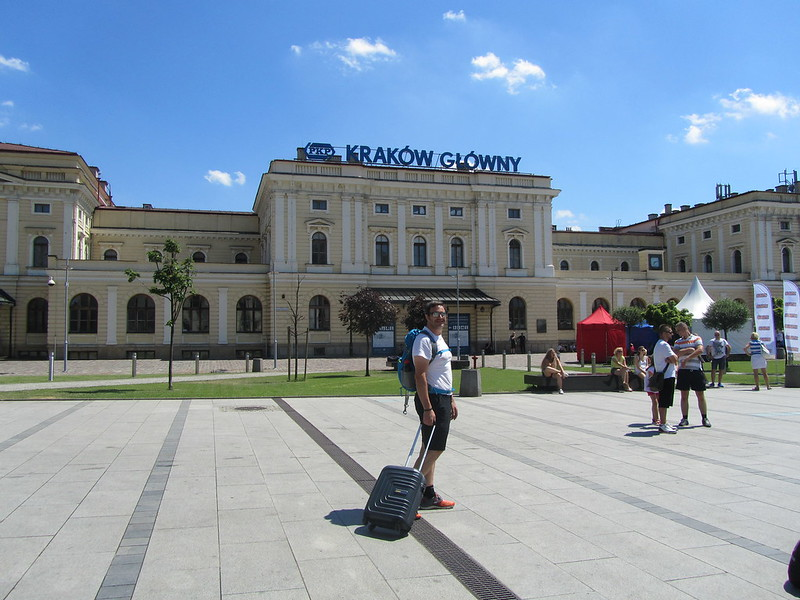 Estación de tren de Cracovia