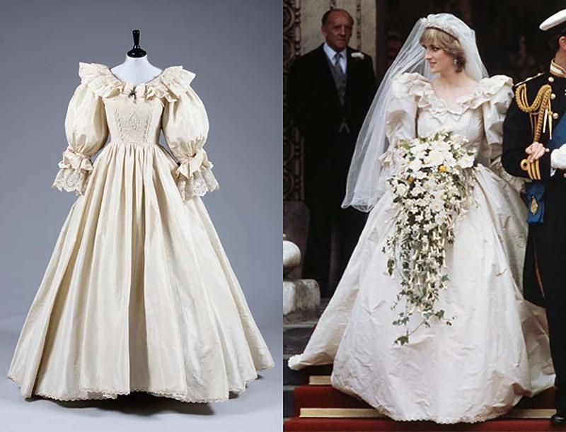 Cвадебное платье принцессы Дианы