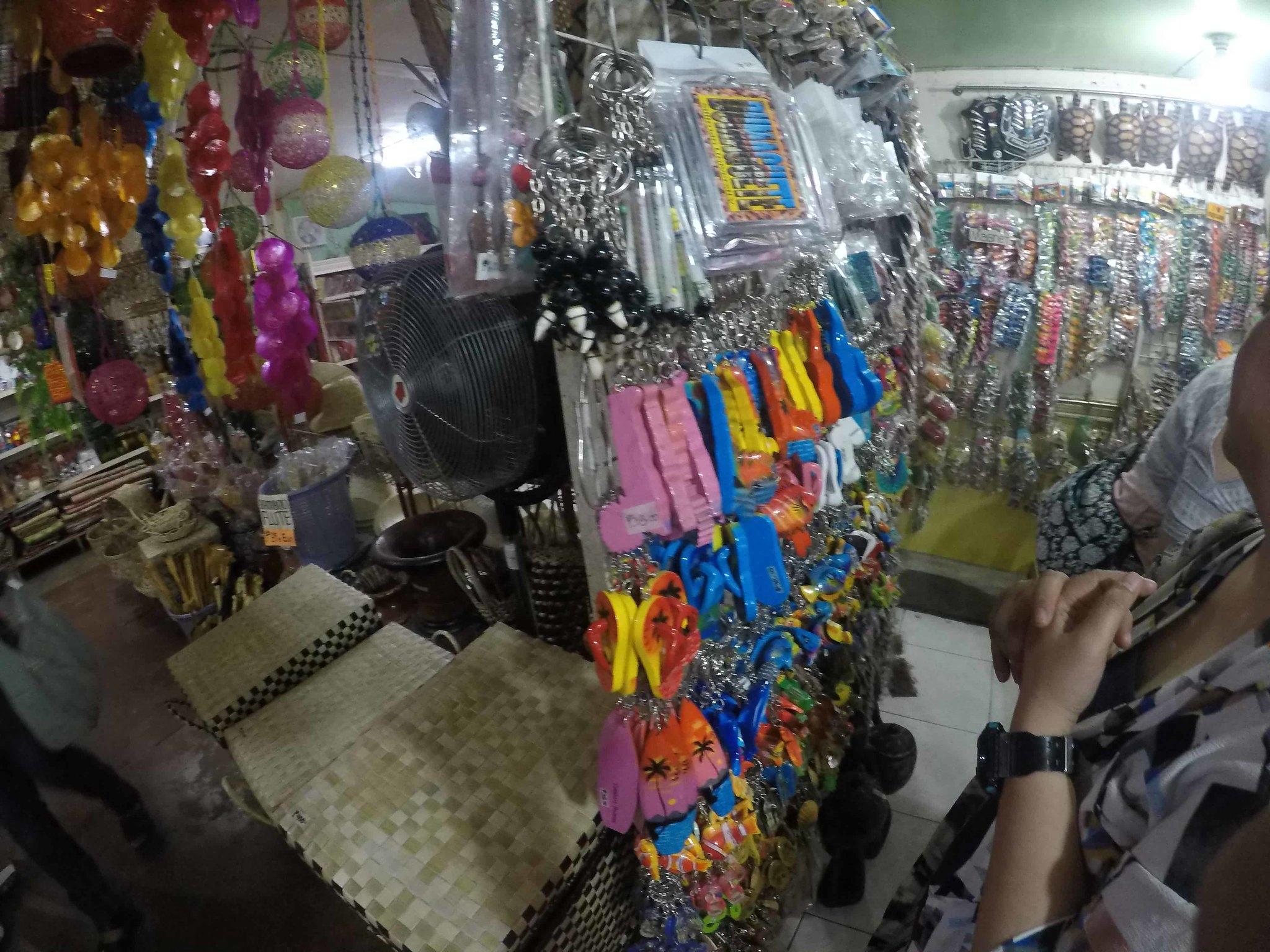 Souvenirs at Handumanan Dumaguete City