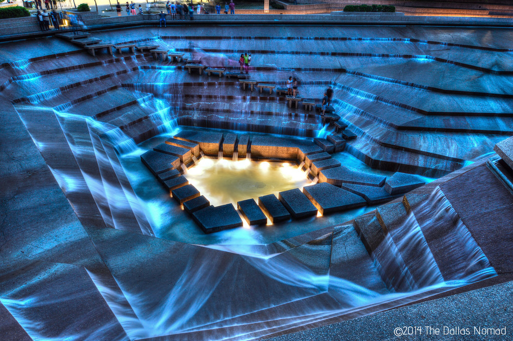 Charmant ... Fort Worth Water Gardens (4) | By The Dallas Nomad