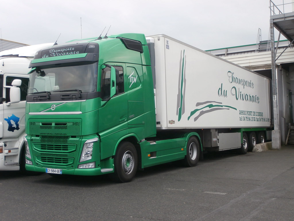 Transports Du Vivarais F Volvo Fh Iv 500 Rungis F 24 04