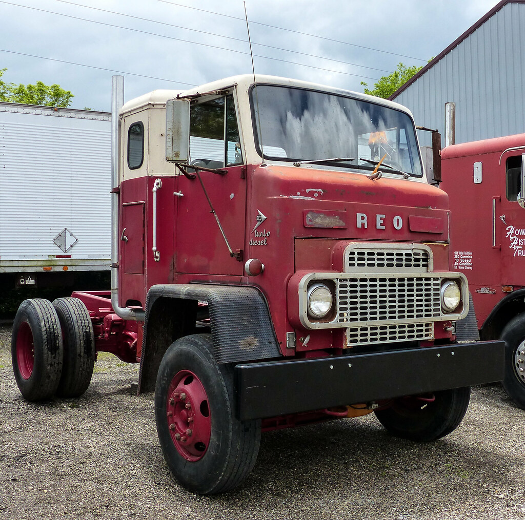Reo turbo diesel coe cincinnati chapter of the american tr flickr sciox Image collections
