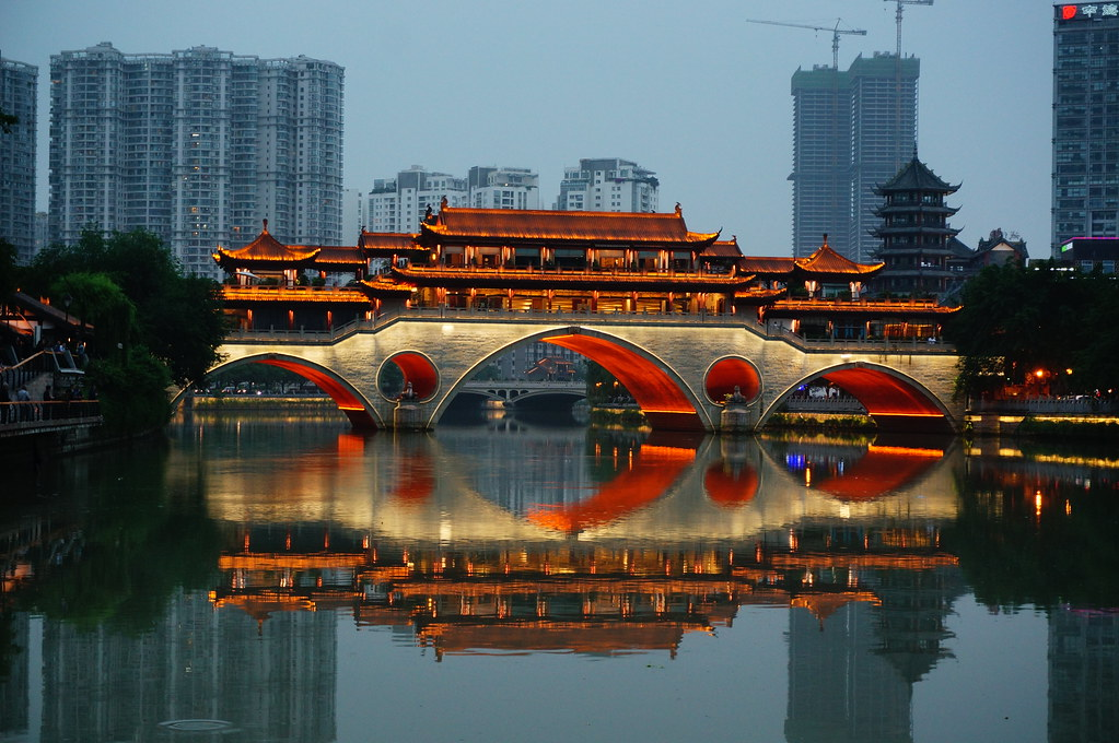 Veranda Bridge Restaurant, Chengdu