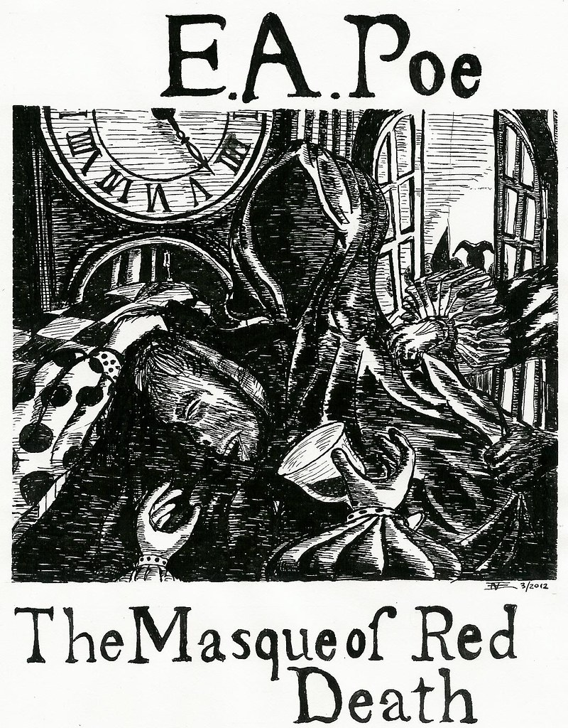 exploring the symbolism used in edgar allan poes the masque of the red death Edgar allan poe's masque of the red death: comprehension and analysis grade levels 8th grade course, subject the story masque of the red death seems to personify the disease that caused so much tragedy in poe's life 3.