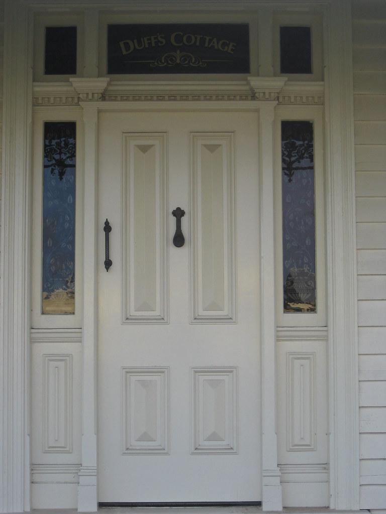 ... The Front Door of \ Duff\u0027s Cottage\  a Victorian Weatherboard Villa - Colac | & The Front Door of \