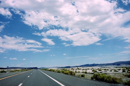 On the road in Nevada | by hepwori