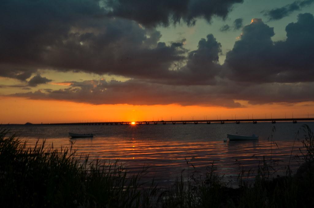 solnedgång kalmar