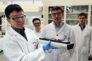 Scientists have developed a method for creating laser light using colloidal quantum dots. University of Toronto and Los Alamos National Laboratory developed the technology, with partners from Vanderbilt University and University of New Mexico.