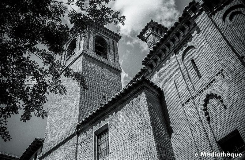 Iglesia de San Vicente en Toledo en agosto de 1965. Fotografía de Jacques Revault © e-Médiathèque | Médiathèque SHS de la Maison méditerranéenne des sciences de l'homme