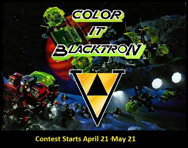 Color it Blacktron Contest 5