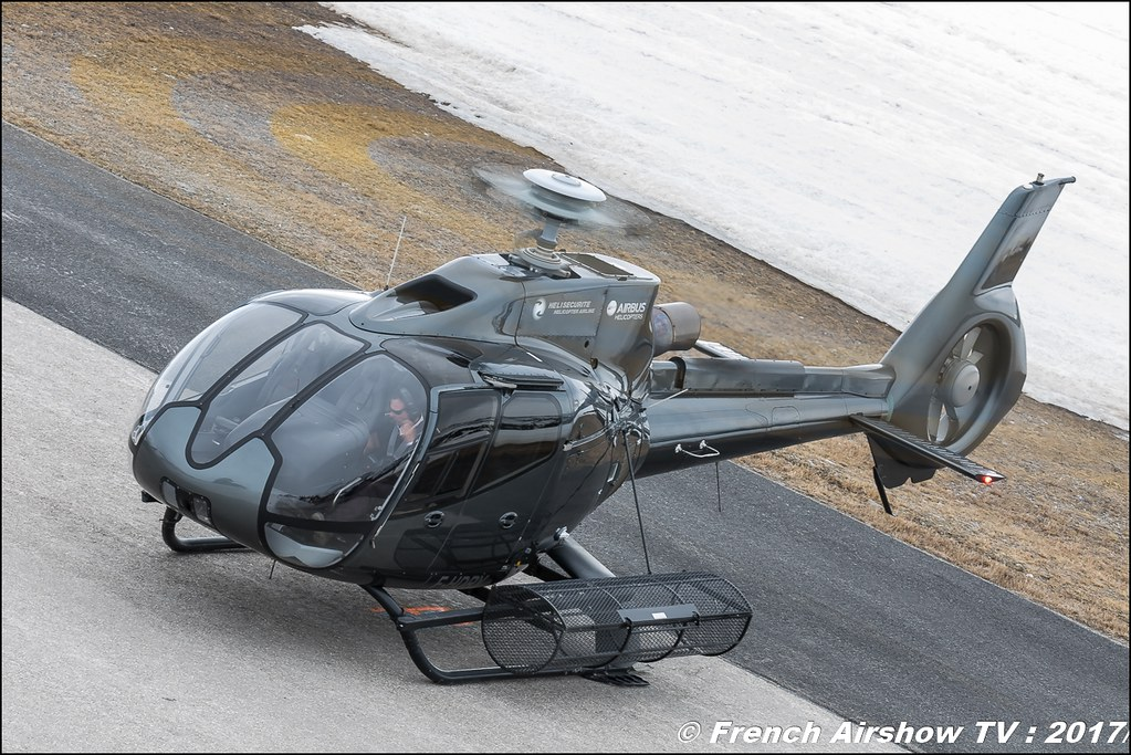 Eurocopter EC-130B-4 - F-HDRY , Héli Securité - Helicopter Airline , Fly Courchevel 2017 , Hélico 2017