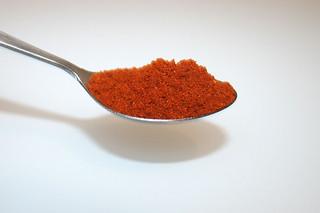 07 - Zutat edelsüßes Paprika / Ingredient sweet paprika