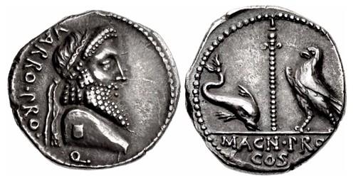 Pompey the Great Denarius